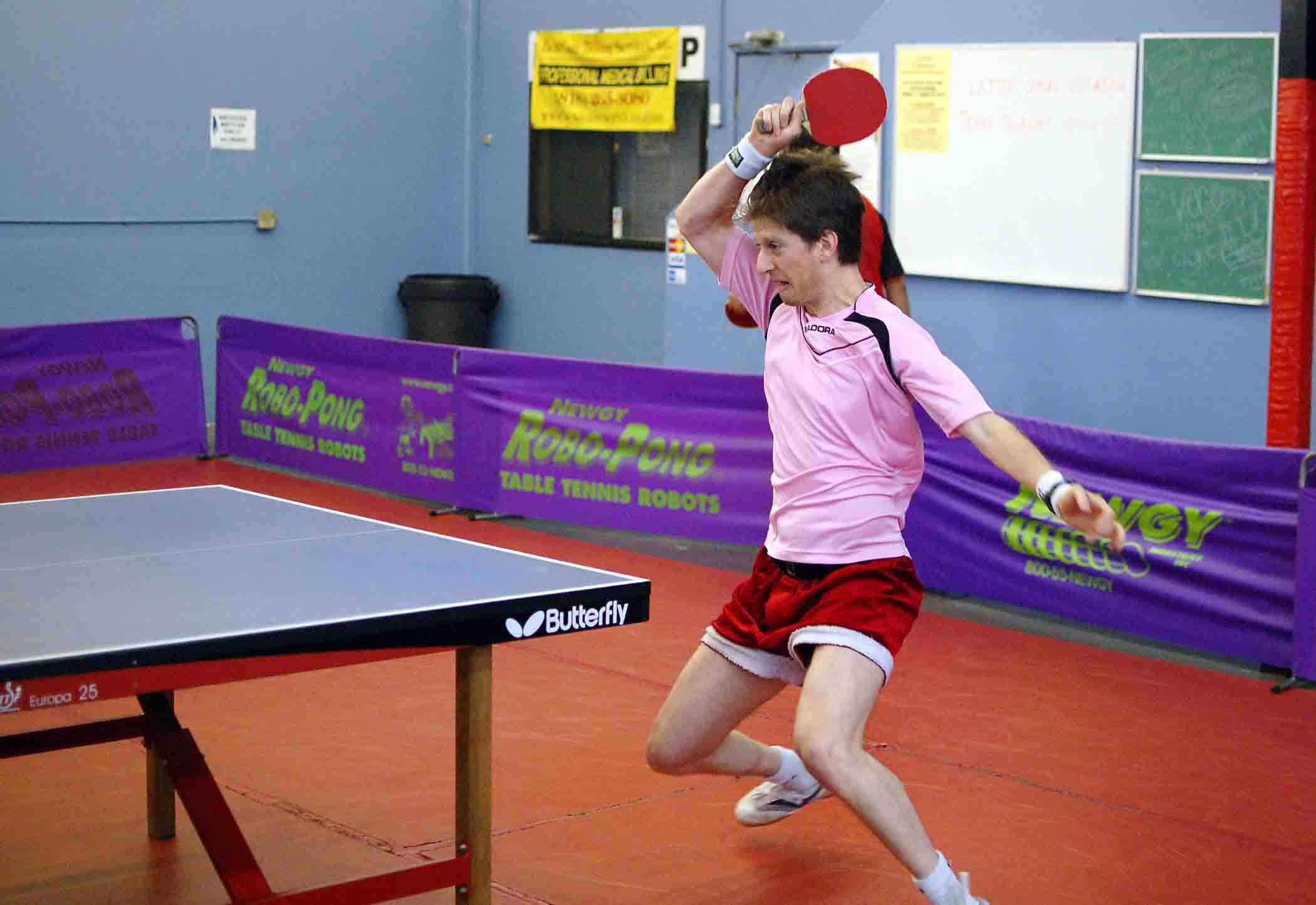 table tennis how to play against defensive players