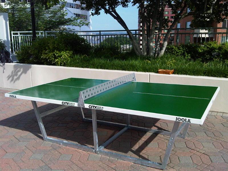 Outdoor tt dc metro area anyone alex table tennis - Used outdoor table tennis tables for sale ...