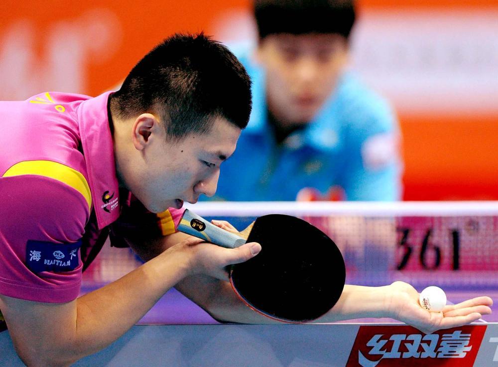 Ma Long S New Blade Alex Table Tennis Mytabletennis