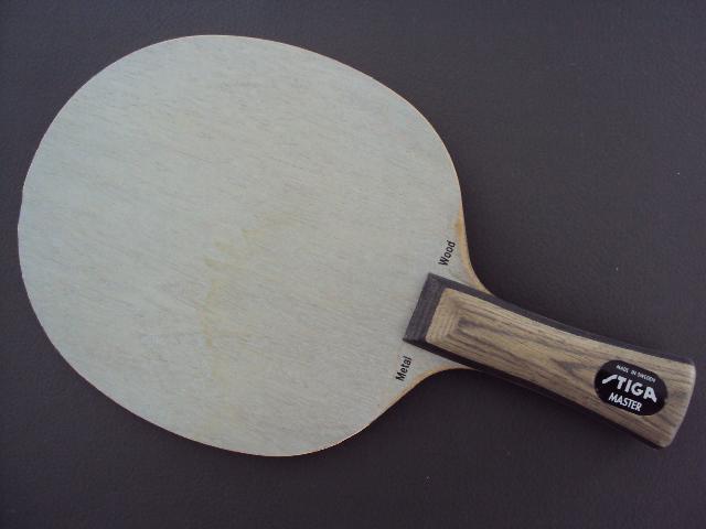 Fs Old Stiga Metal Wood Master Alex Table Tennis