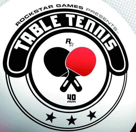 Table tennis logos for Table table logo