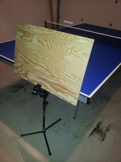 Homemade Returnboard Help Alex Table Tennis