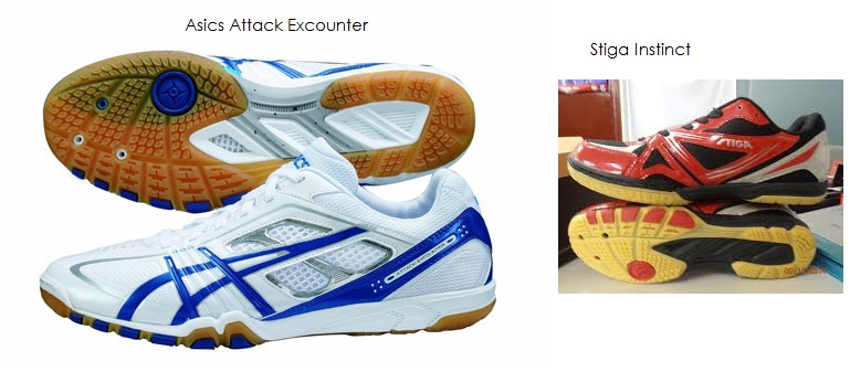 Is it possible Stiga Instinct shoes made by Asics? Because the Outsole is  exactly the same. Does anyone know? I am currently using this Stiga  Instinct.