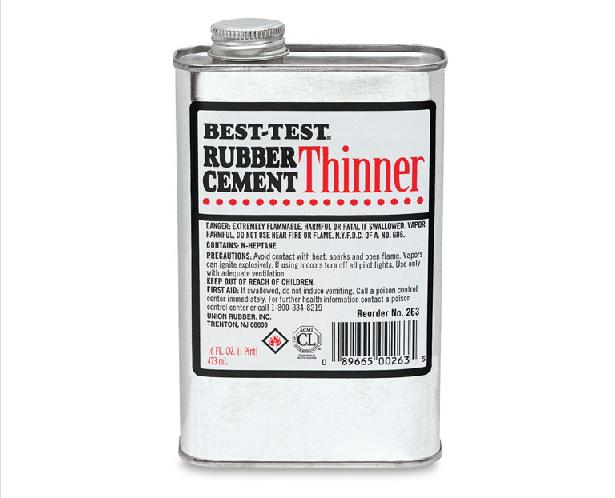 Best Test Rubber Cement Thinner Rubber Cement Glue Solvent