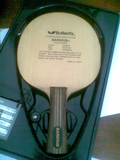 Lf Butterfly Sardius Old Version Ooak Table Tennis Forum